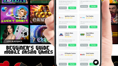 A beginner's guide to the best mobile online casino games
