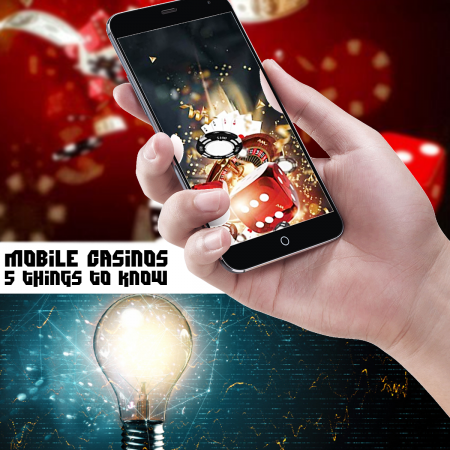 5 things to know when choosing a mobile casino