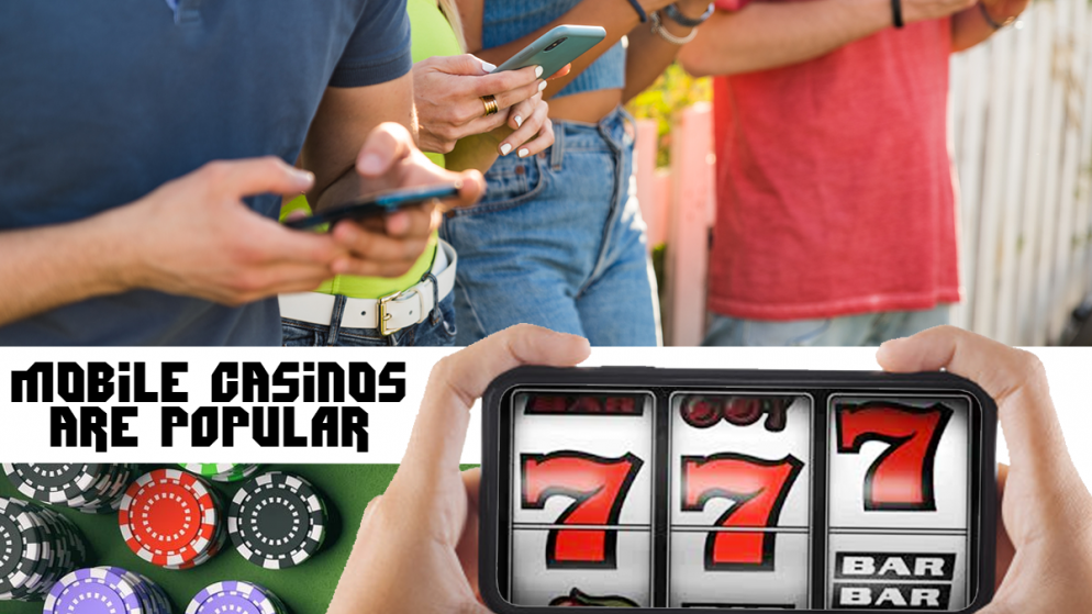 Why Mobile Casinos Are Becoming Popular