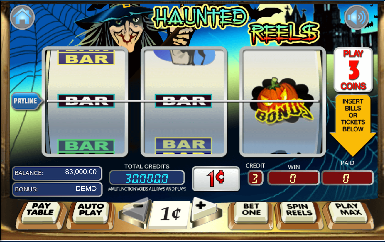 Haunted Reels Mobile Slots Game