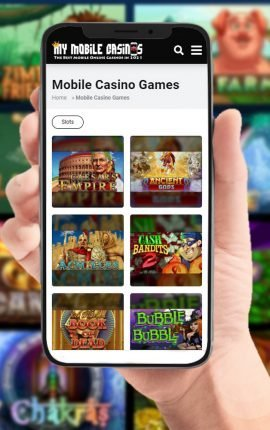 Mobile Casino Games Growing in Popularity