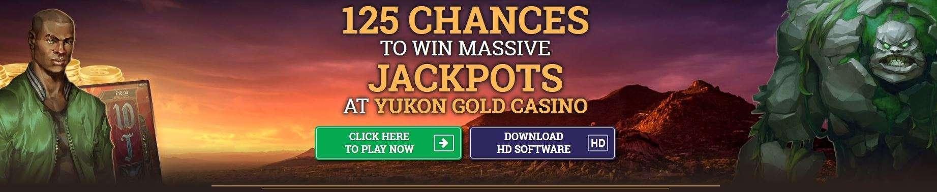 Bonus Kasino Emas Yukon